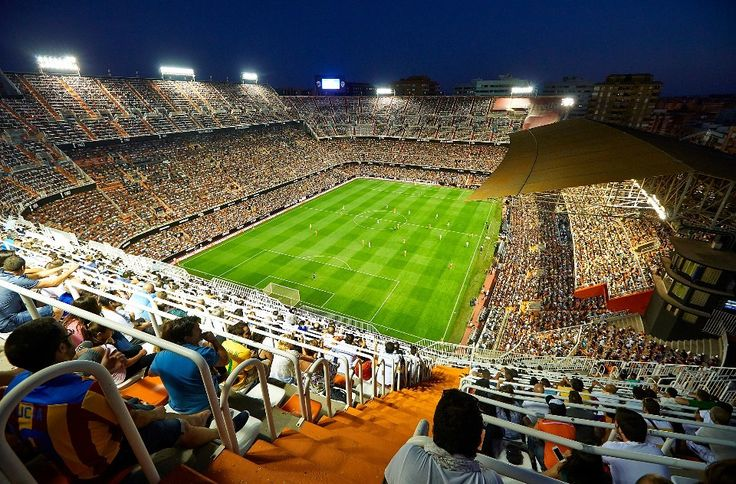 Valencia Club de Fútbol - Camp de Mestalla - Página web oficial Valencia CF