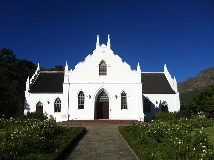 church @ franschhoeck, south africa