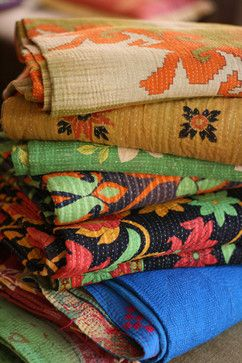 Vintage - eclectic - quilts - portland - Filling Spaces by Deepali Kalia
