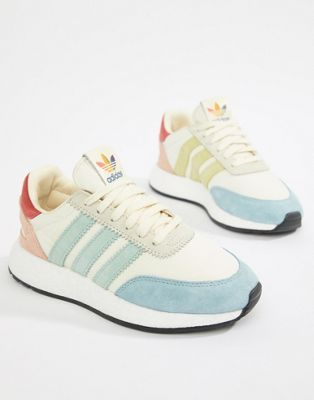 848fcc4db7e adidas Originals I-5923 Pride Sneakers In Cream Multi