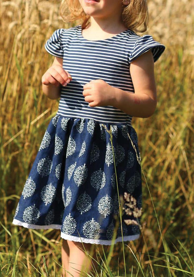 sommerliches Kleid für Mädchen