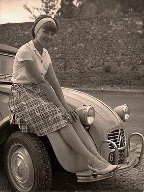 Rêve des années 60 en 2CV : Photos-vintage-Archives 1G - Photos-vintage : vente en ligne - Mosaïque