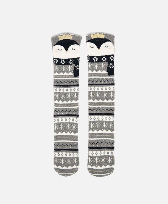 Penguin Socks #oysho #socks