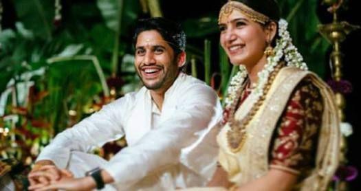 Check Out The Dreamy Wedding Pics Of Naga Chaitanya And Samantha Ruth Prabhu