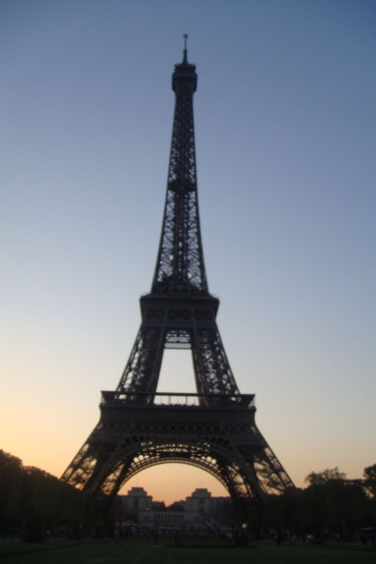 Stunning - The Eiffel Tower at sunset