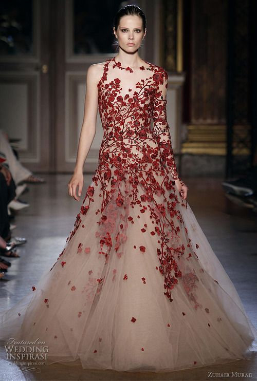 zuhair mura. Pretty for a Chinese Wedding | Wedding Dress