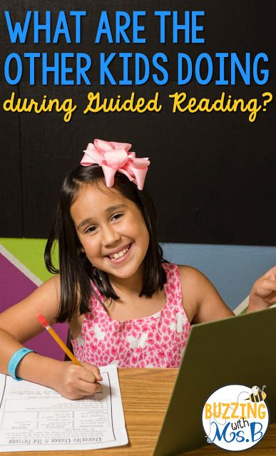 Buzzing with Ms. B: Guided Reading: What Are the Other Students Doing? In order to maximize your guided reading time as well as the independent  working time of your kids, rituals and routines are incredibly  important!