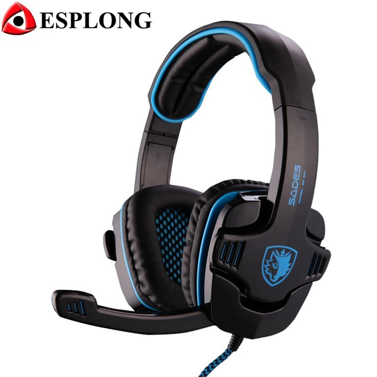 23.99$  Watch now - http://aliw4r.shopchina.info/go.php?t=32771140868 - Sades SA-901 Professional 7.1 Surround Sound Gaming Headset USB Bass Audifonos Gamer Headphone with Microphone Remote Control  #magazineonlinewebsite