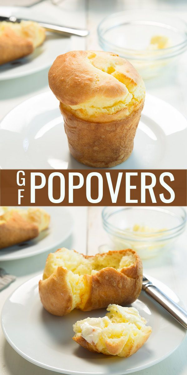 Make gluten free popovers that come out perfect every single time. All you need is the right recipe, plus gluten free flour, salt, butter, eggs, and milk!
