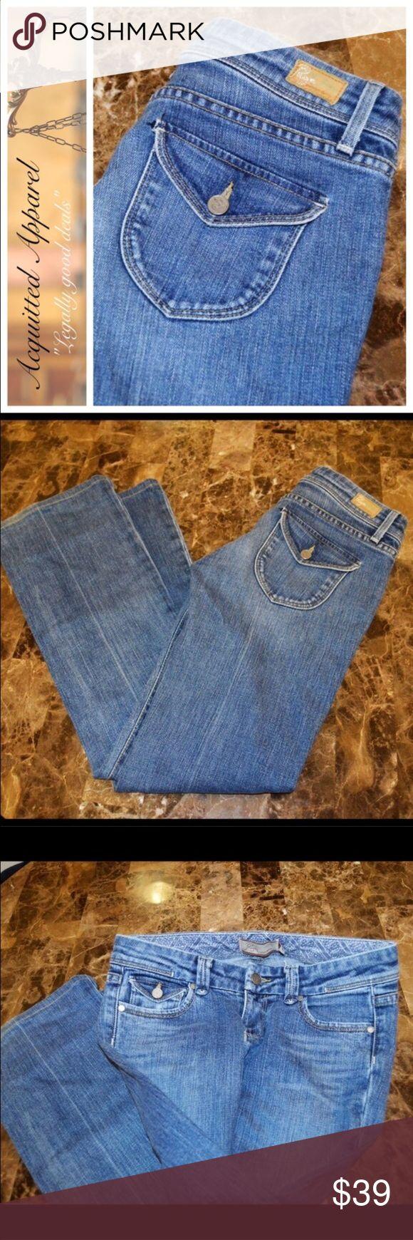 "Paige Jeans Pico Low Bootcut 30.5"" inseam Paige Jeans Pico Bootcut 30.5"" inseam 98% cotton 2% spandex. Excellent almost like new condition. Paige Jeans Jeans Boot Cut"