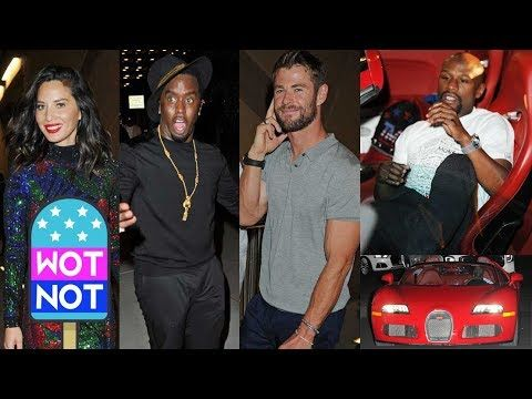 Floyd Mayweather Jr. was pictured in his $4 million Bugatti sports car just hours after he beat Irish star Conor McGregor in one of the richest boxing fights the world has seen. A number of stars turned up to watch the fight including LeBron James, P Diddy, Chris Hemsworth and Olivia Munn. Check out the pics of LeBron James' wife Savannah James stealing the show in a low cut top! © Atlantic Images