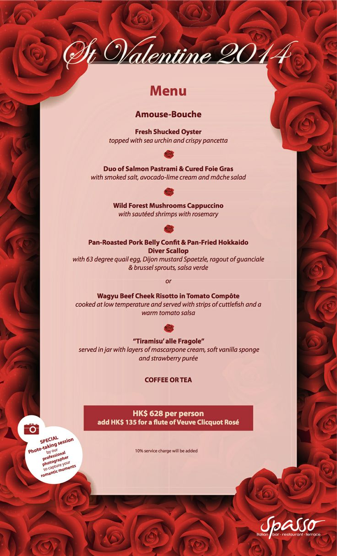 20 best valentine 39 s day menus 2014 hong kong restaurants for Table 52 brunch menu