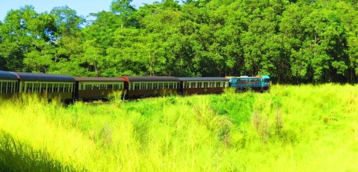 Kuranda Scenic Railway must experience when in Cairns. No words or pictures can describe its real beauty.
