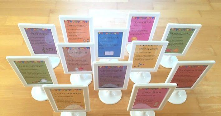 Lernwörterübungen: Lupenwörter und Aufnahme | materialwiese