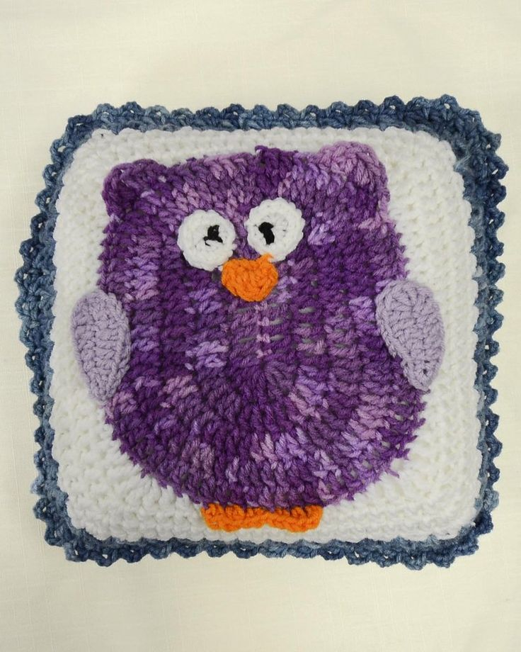 Free Crochet Pattern For Owl Afghan : 1000+ ideas about Owl Afghan on Pinterest Crocheted Owls ...
