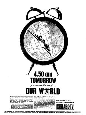 Australia goes live to Our World – Television.AU