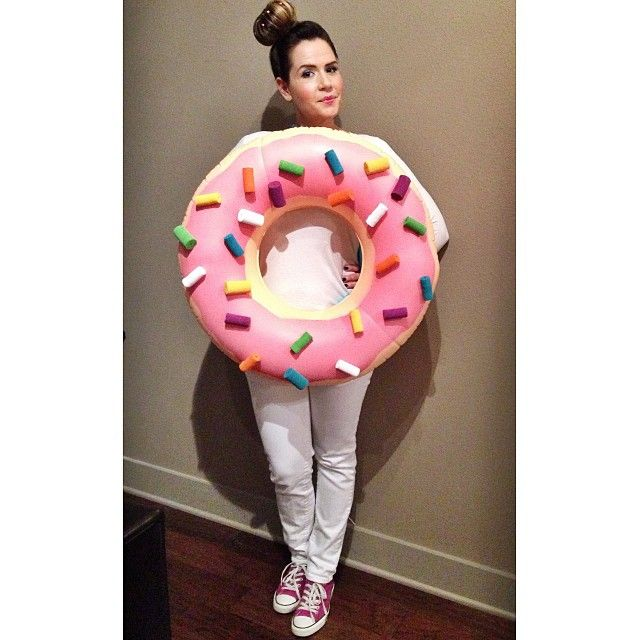 Pin for Later: 20 Costumes to Get Your Junk Food Fix This Halloween Doughnut Channel your inner Homer Simpson and look exceptionally delicious in this costume.