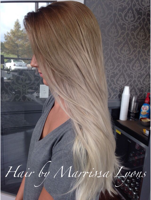 Ash Ombre To Silver Beauty Dyed Hair Hair Hair Styles