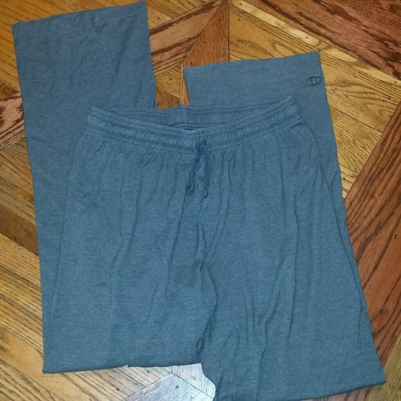 Gray athletic pant Only worn a few times. Champion Pants Track Pants & Joggers