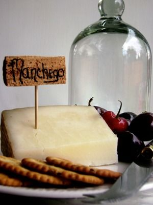Label the different selections on your cheese plate with these easy cheese markers.