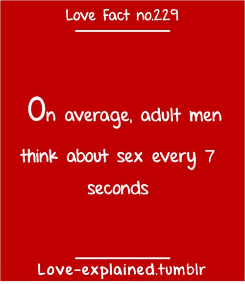 sex and relationship facts