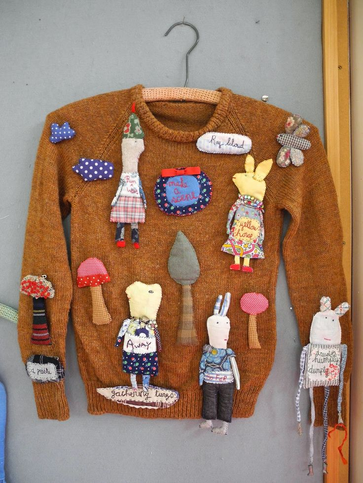 One Bunting Away: A Julie Arkell Workshop, julie arkell brooches