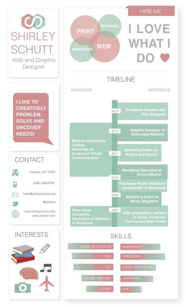 13 best CV Template images on Pinterest - amazing resume templates