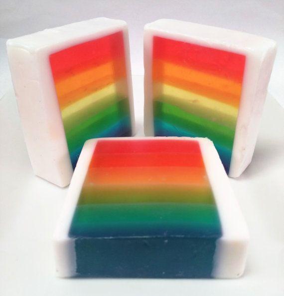 Pride 2016  Rainbow Handmade Detergent by SweetandCypha on Etsy