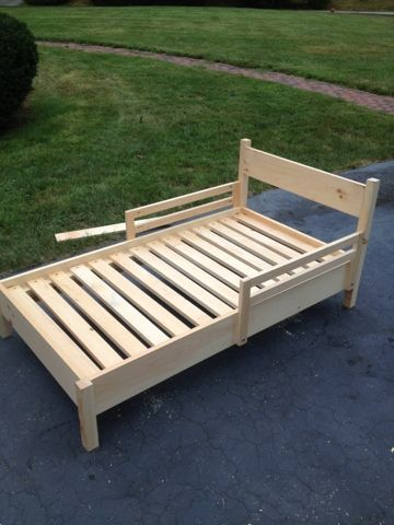 Patients, Patience, and Paces: More Woodworking- Toddler Bed