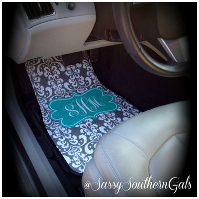 Car mats monogrammed / personalized car mats