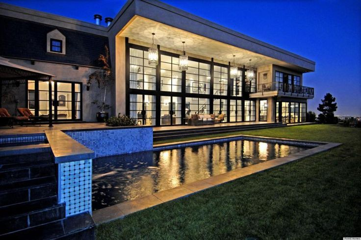 Dream House Exterior With Pool