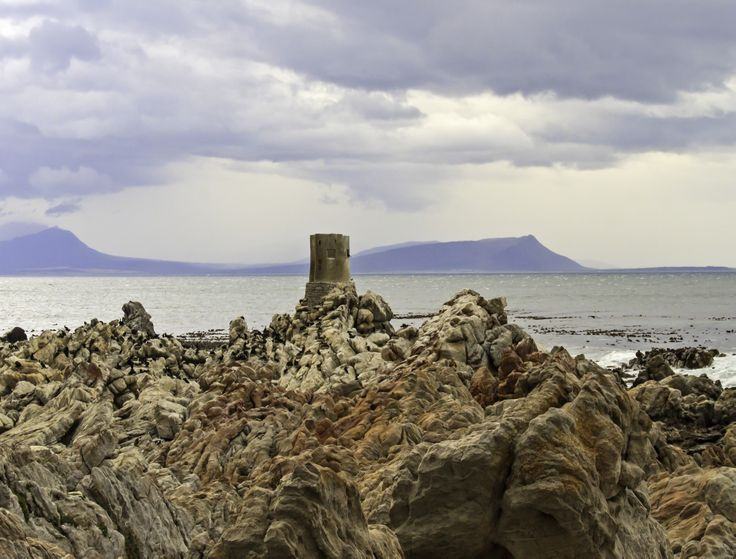 Stormy landscape near Betty's Bay.