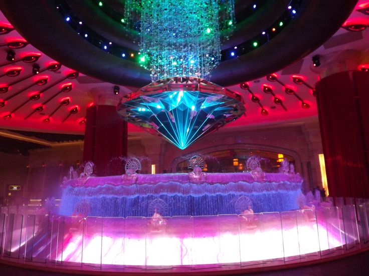 The Fortune Diamond at The Galaxy Hotel #Macau  Image: Sadhvi Rampersad
