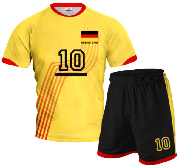 GERMANY 2014/15 Volleyball Kit With Custom Name and Number in Different Colors