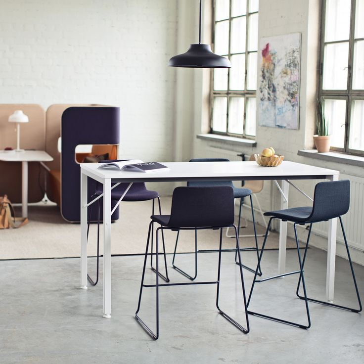 Sola bar stool's careful finish, approachable form and two different heights mean that it easily fits into different types of spaces. Design Antti Kotilainen.