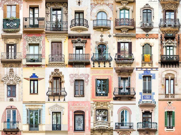 Windows in Barcelona © André Gonçalves