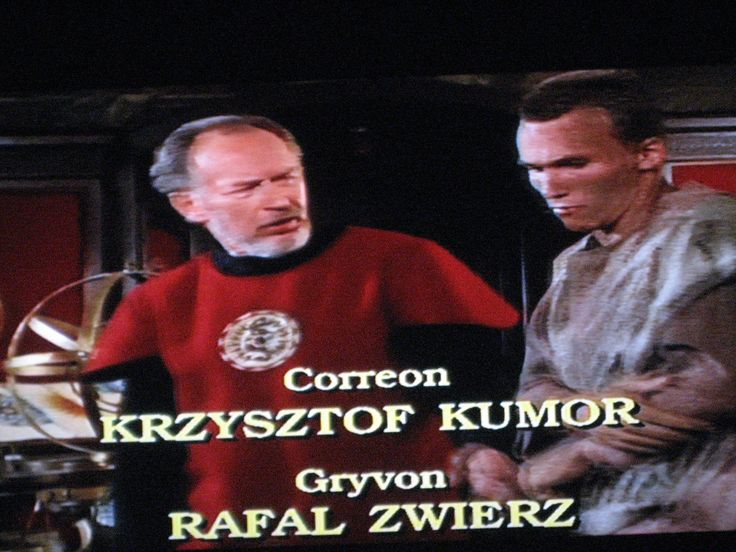 good spellbinder correon is krzysztof kumor  and gryvon is rafaL zwierz
