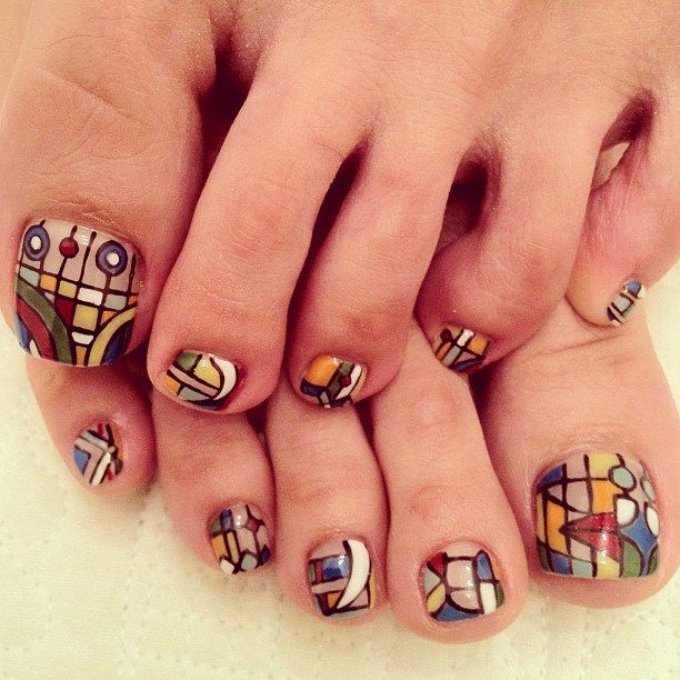 17 Best Ideas About Pedicure Nail Designs On Pinterest