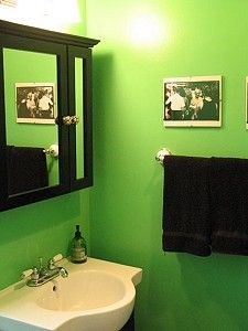 1000 images about house painting on pinterest colors thanksgiving and wall painting design - Green bathroom color ideas ...