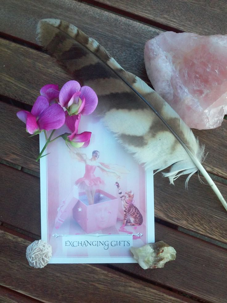 Using oracle cards to get unstuckWisdom of the oracle by Colette Baron-Reid