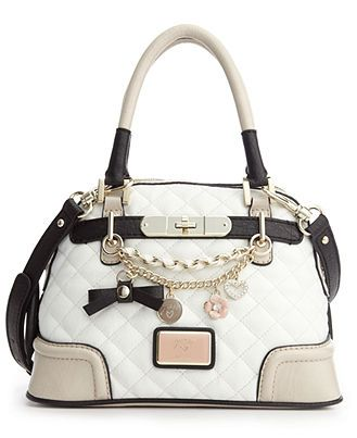 GUESS Handbag, Amour Small Dome Satchel @ Macy's