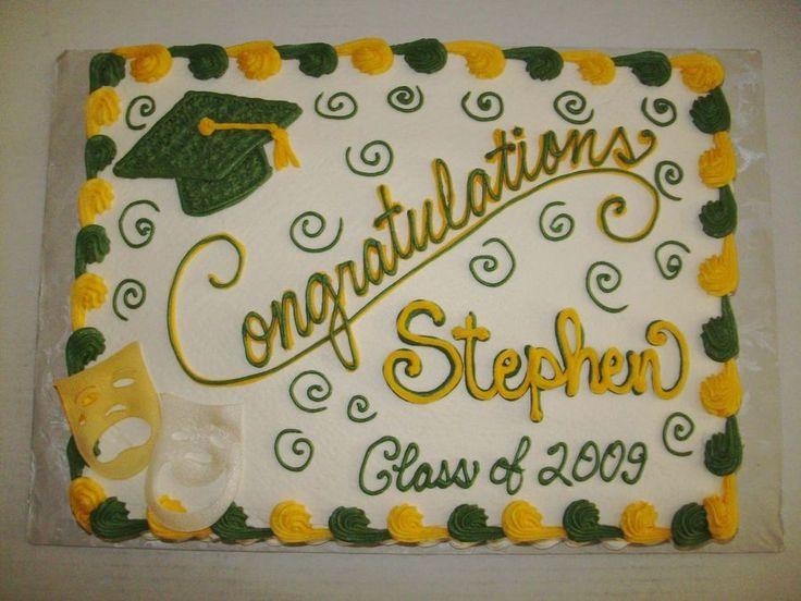 Cupcake Decorating Ideas For Seniors : 25+ best ideas about Graduation Cake on Pinterest ...