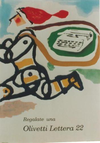 Original-vintage-cartel-OLIVETTI-LETTERA-22-SANTA-Pintori