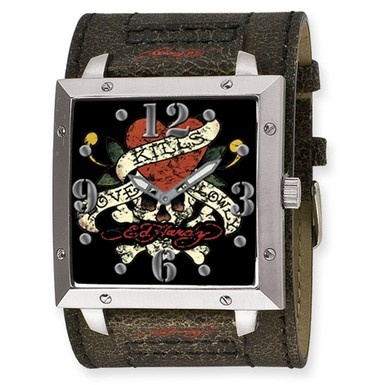 "#RT http://www.williamotoole.com/facebookgroups  Ed Hardy Warrior watch, ""Love Kills Slowly"" I Love this watch,  My Darren bought this for me :)"