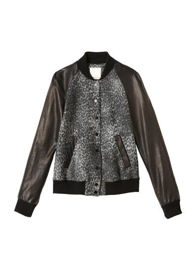 Rebecca Taylor Leopard Wool Bomber Jacket: Leopard Print, Fashion, Taylor Leopard, Wool Bomber, Bomber Jackets, Leopards, Rebecca Taylor