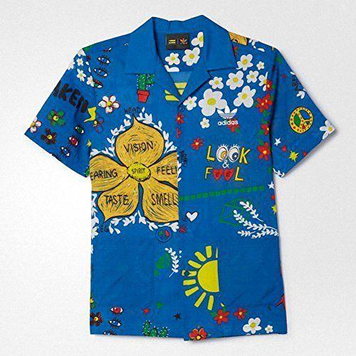 adidas x Pharrell Williams Mens Doodle Shirt Sportswear Bargains