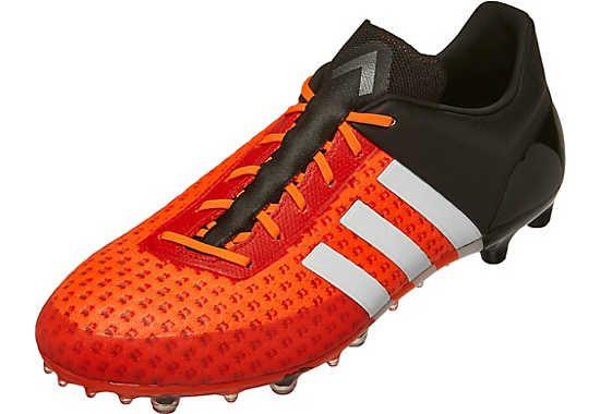 adidas ACE 15.1 Primeknit FG Soccer Cleats - Solar Orange