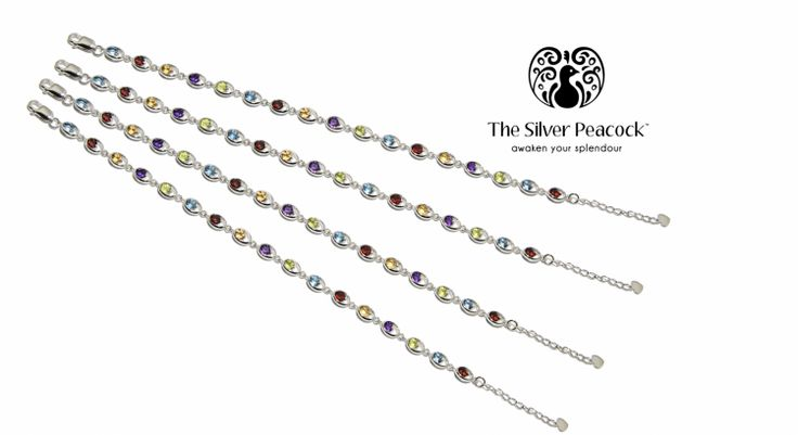 The Silver Peacock™ - BRACELETS