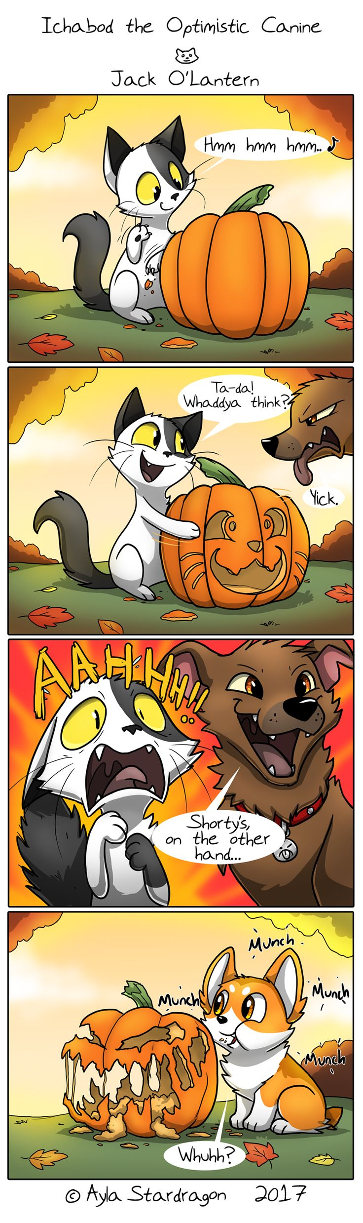 Ichabod the Optimistic Canine :: Jack O'Lantern | Tapas - image 1