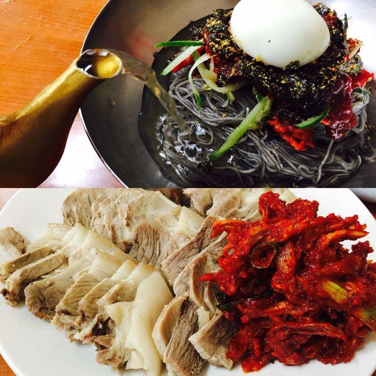 #kood#korean#meat#noodle#sokcho#yangyang#with mom